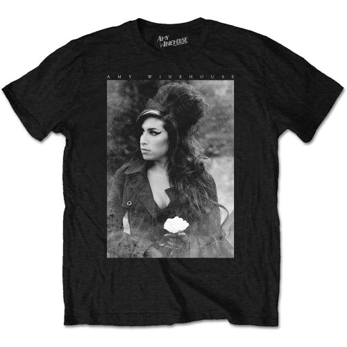 Tricou Amy Winehouse Flower Portrait
