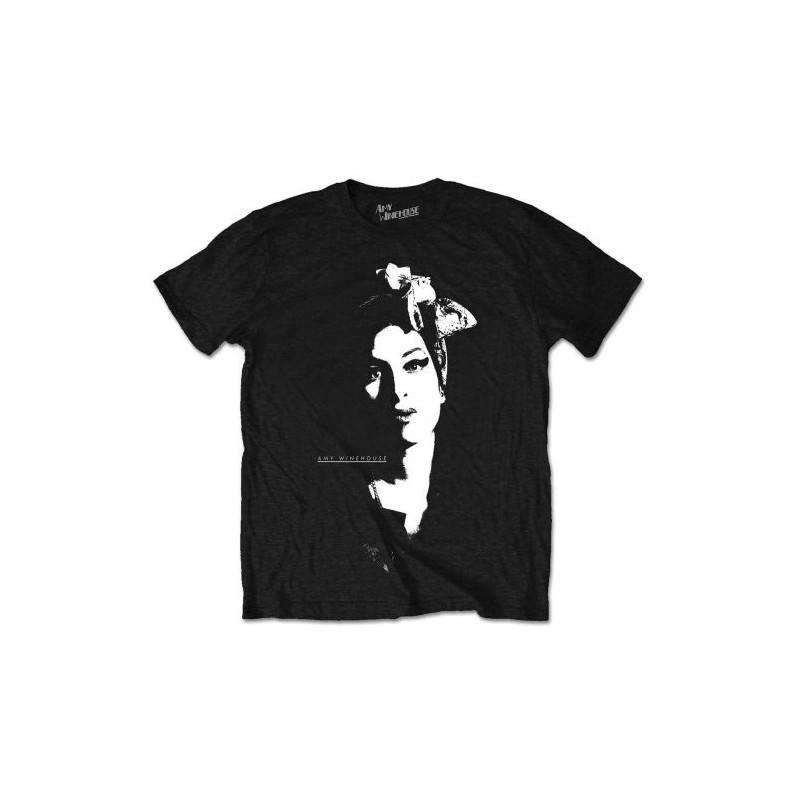 Tricou Amy Winehouse Scarf Portrait