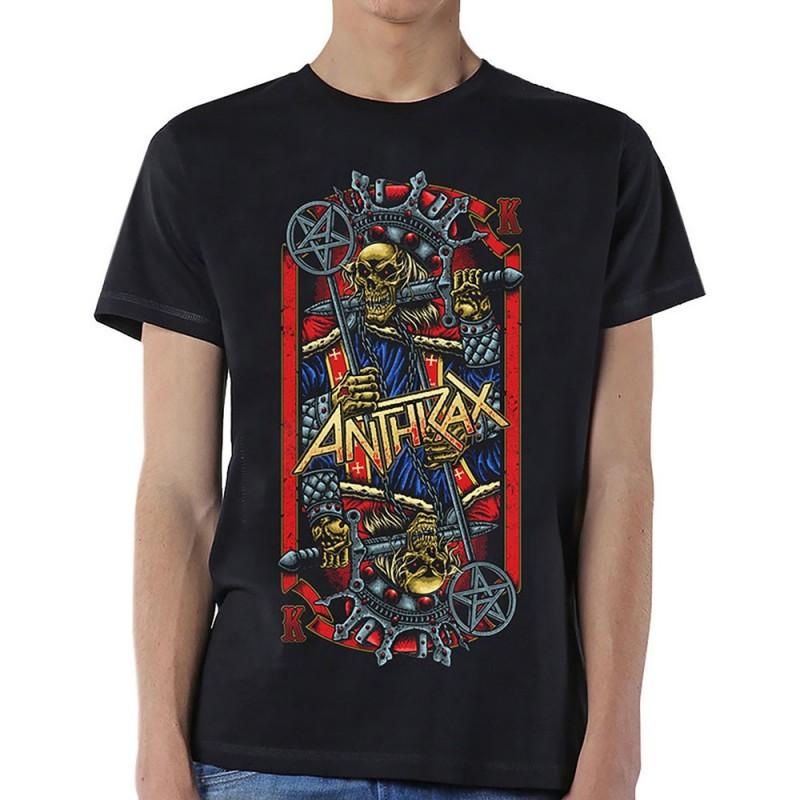 Tricou Anthrax Evil King