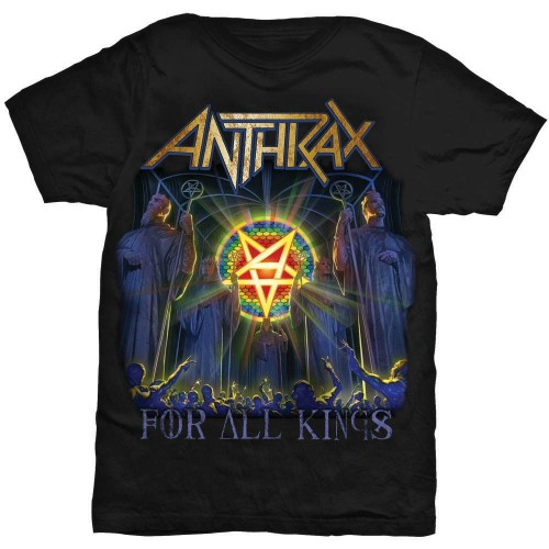 Tricou Anthrax For All Kings Cover