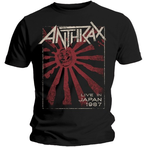 Tricou Anthrax Live in Japan