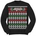 Bluză Anthrax Skulls Christmas