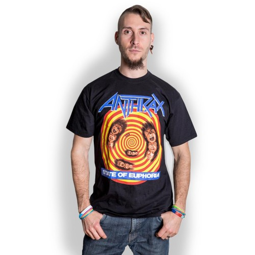 Tricou Anthrax State of Euphoria