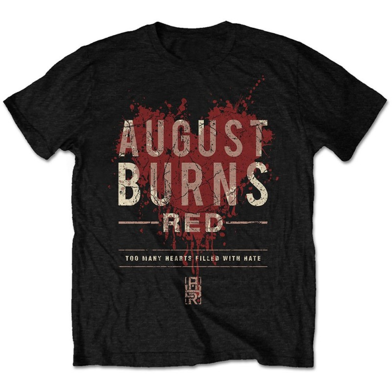 Tricou August Burns Red Hearts Filled
