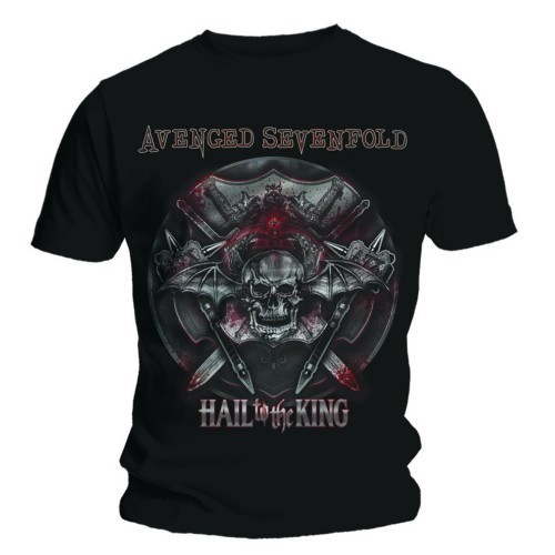 Tricou Avenged Sevenfold Battle Armour