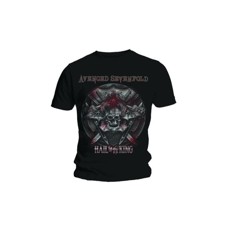 Tricou Avenged Sevenfold Battle Armour