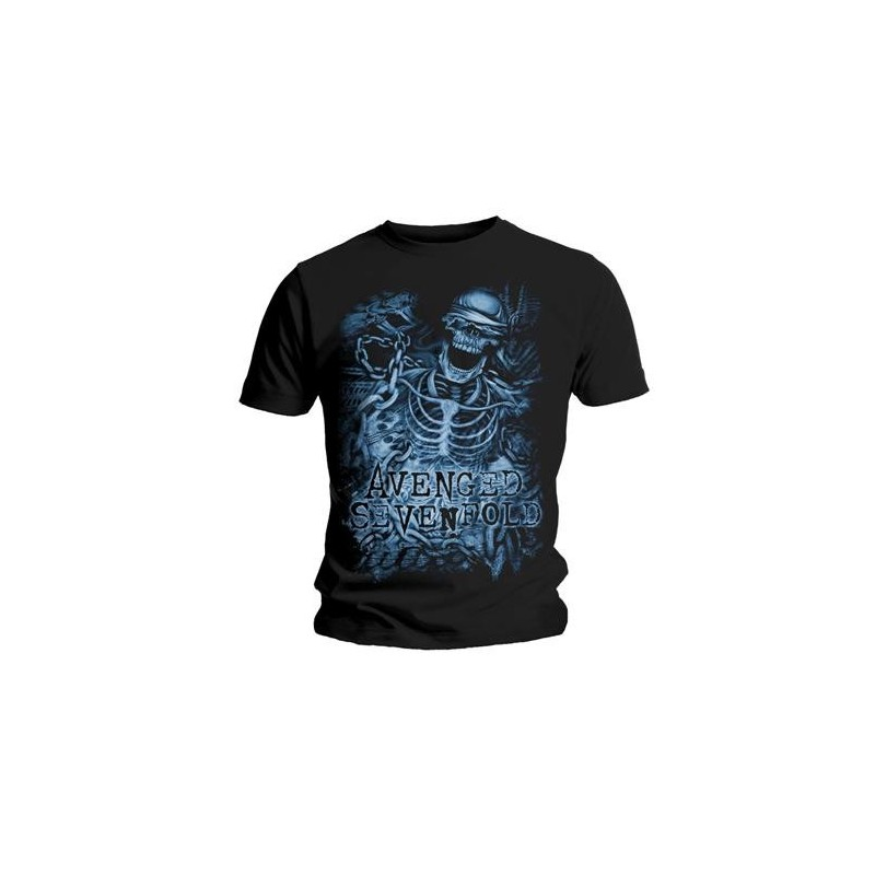 Tricou Avenged Sevenfold Chained Skeleton