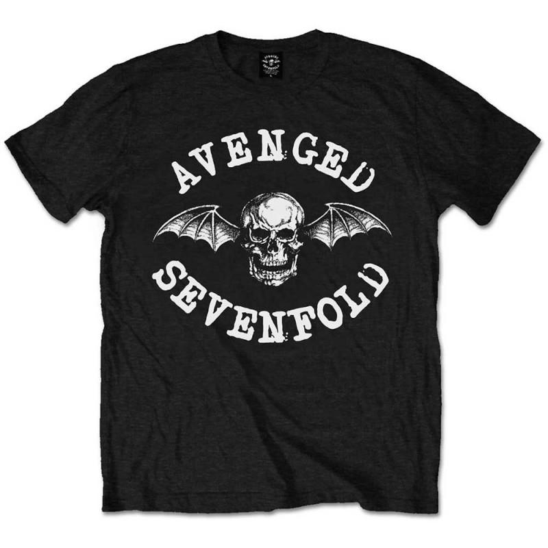 Tricou Avenged Sevenfold Classic Death Bat