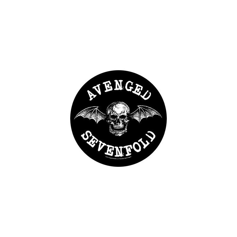 Back Patch Avenged Sevenfold Death Bat