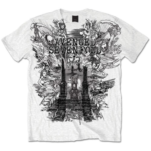 Tricou Avenged Sevenfold Land of Cain