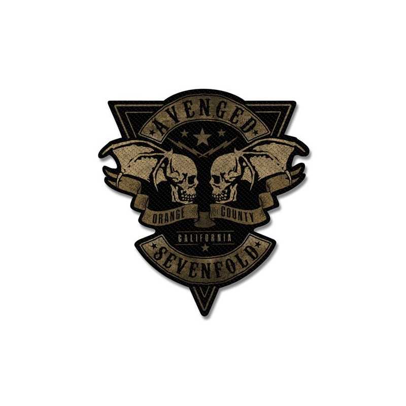 Patch Avenged Sevenfold Orange County Cut-Out
