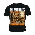 Tricou The Beach Boys Best of SS