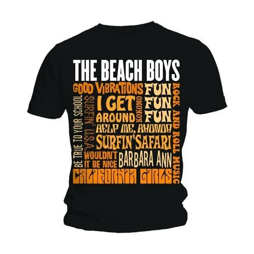 Tricou The Beach Boys Best of SS