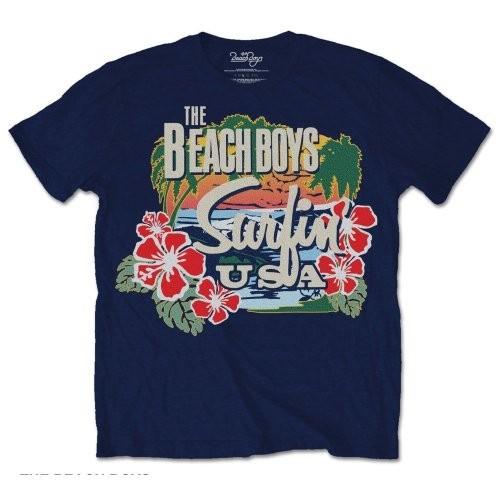 Tricou The Beach Boys Surfin USA Tropical