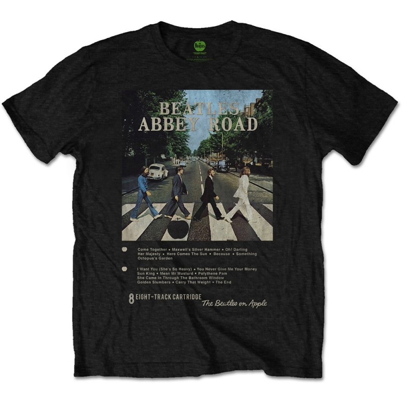 Tricou The Beatles Abbey Road 8 Track