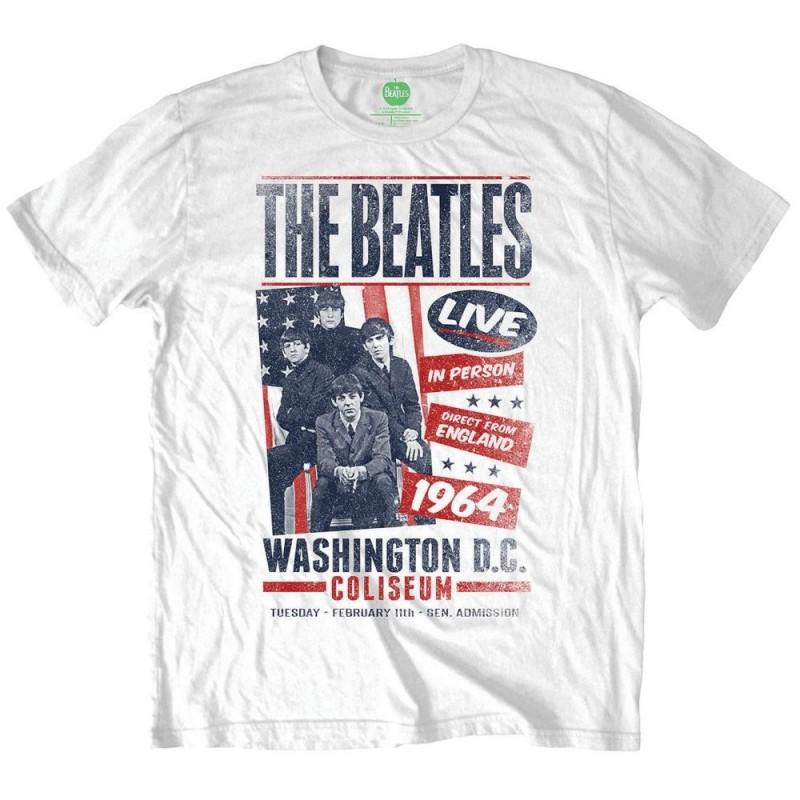 Tricou The Beatles Coliseum Poster