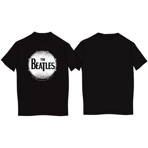 Tricou The Beatles Drum Skin