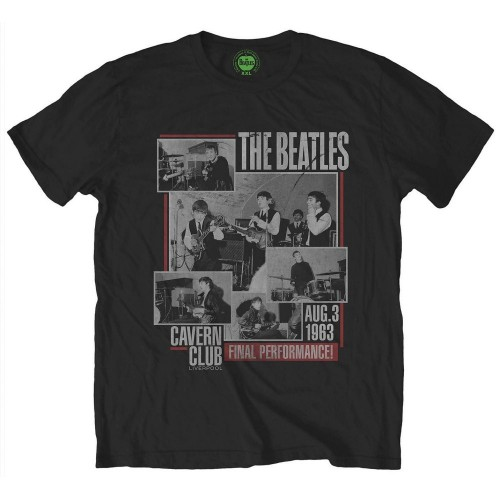 Tricou The Beatles Final Performance
