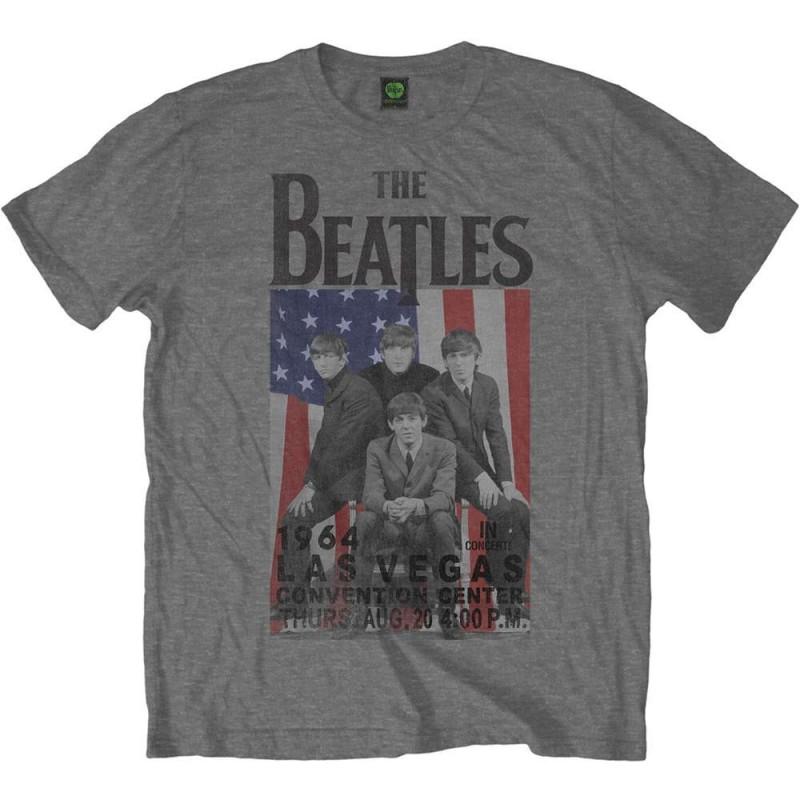 Tricou The Beatles Flag/Vegas