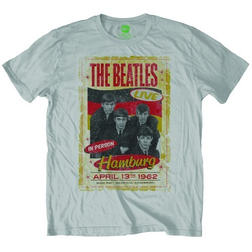 Tricou The Beatles Hamburg Poster 1962