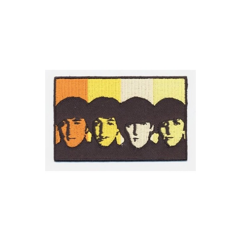 Patch The Beatles Heads in Bands