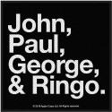 Patch The Beatles Jon, Paul, George & Ringo