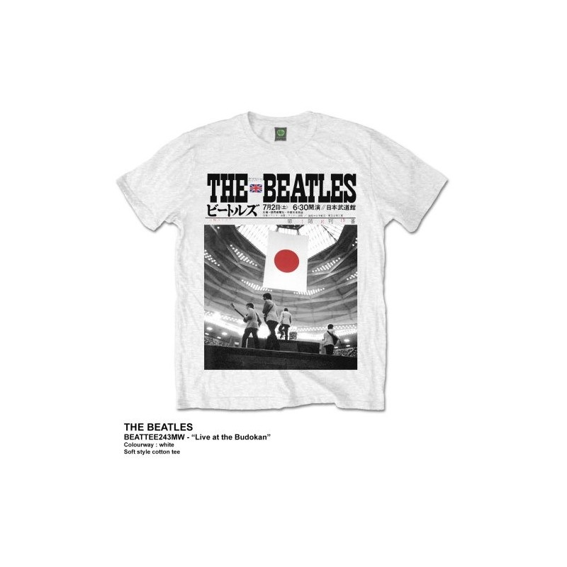 Tricou The Beatles Live at the Budokan