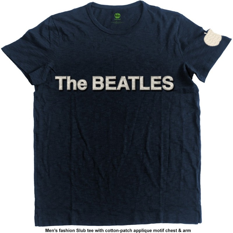 Tricou The Beatles Logo & Apple