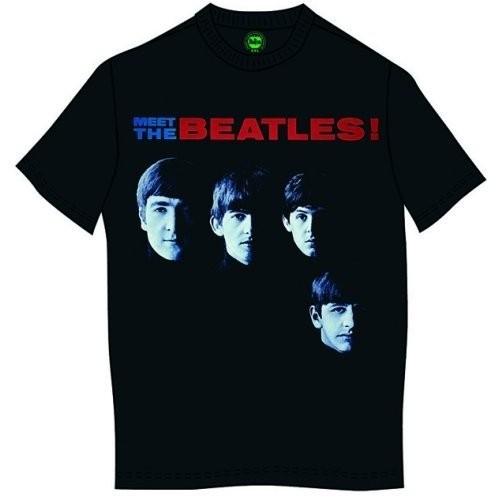 Tricou The Beatles Meet The Beatles