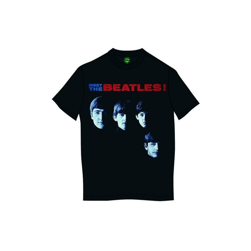 Tricou The Beatles Meet The Beatles