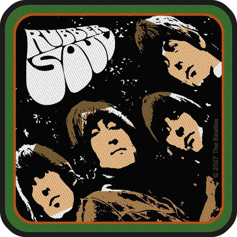 Patch The Beatles Rubber Soul Album