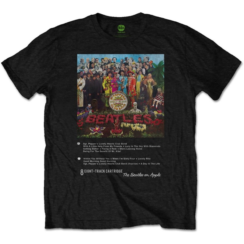 Tricou The Beatles Sgt Pepper 8 Track