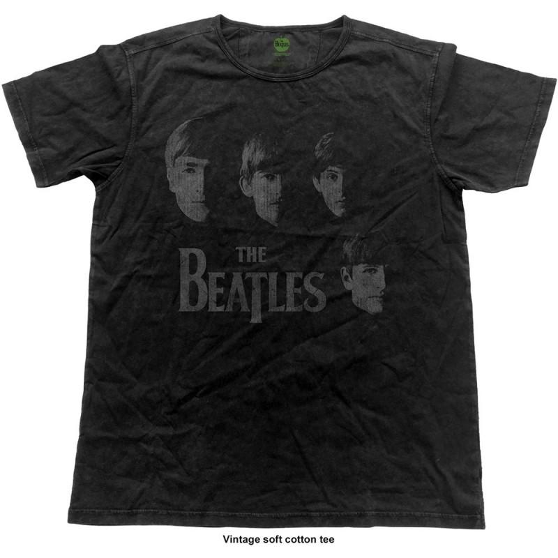 Tricou The Beatles Vintage Faces