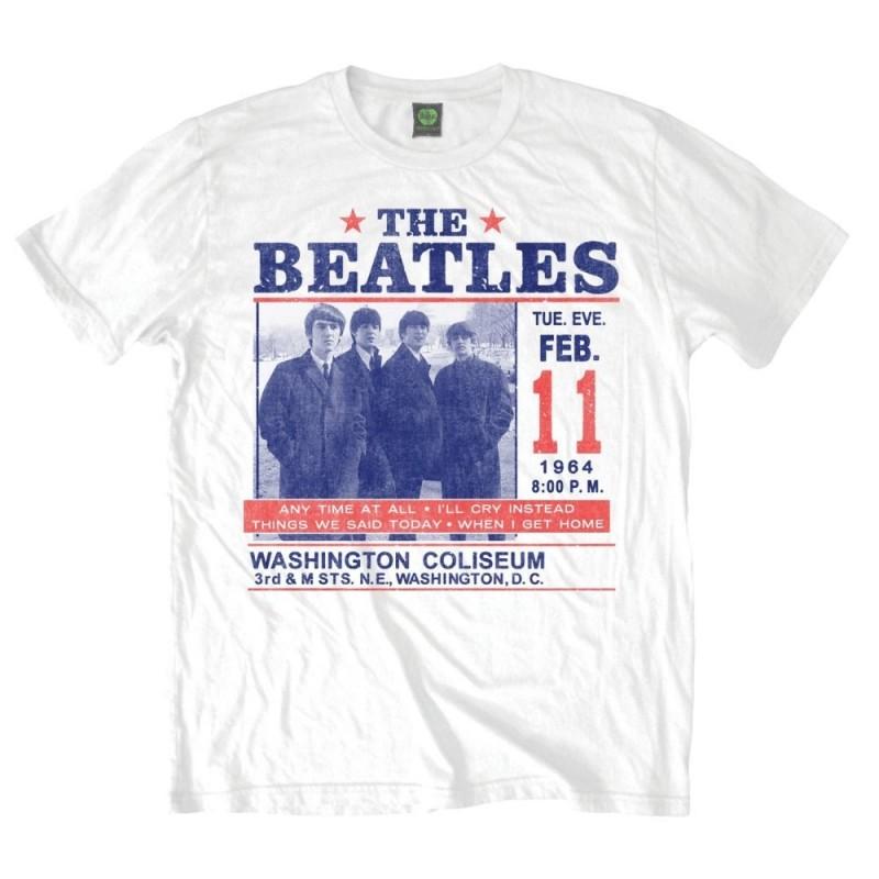 Tricou The Beatles Washington Coliseum