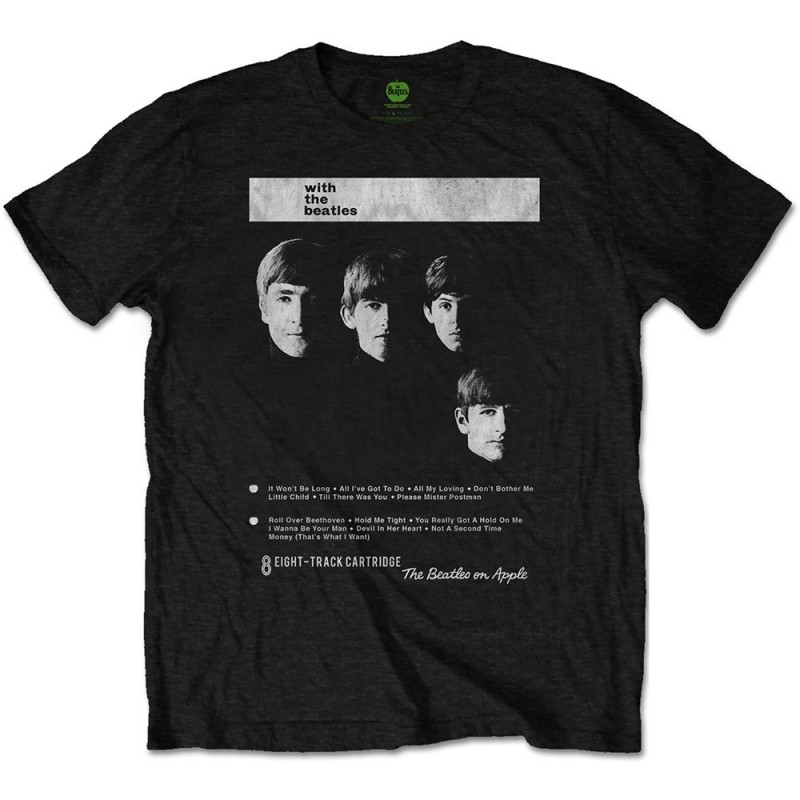 Tricou The Beatles With The Beatles 8 Track