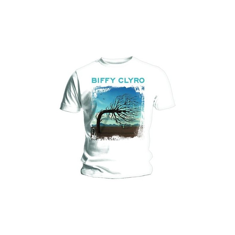 Tricou Biffy Clyro Opposites White