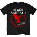 Tricou Black Sabbath Archangel Never Say Die