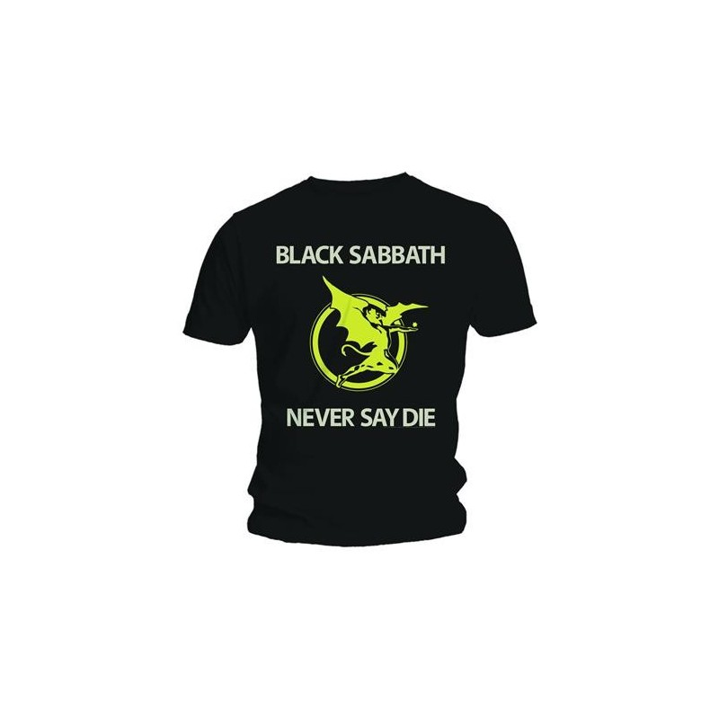 Tricou Black Sabbath Never Say Die