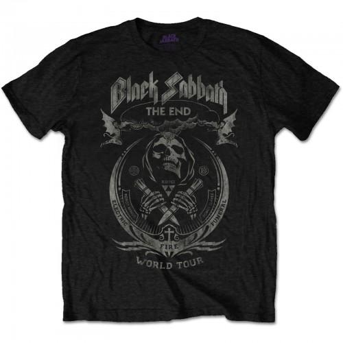Tricou Black Sabbath The End Mushroom Cloud