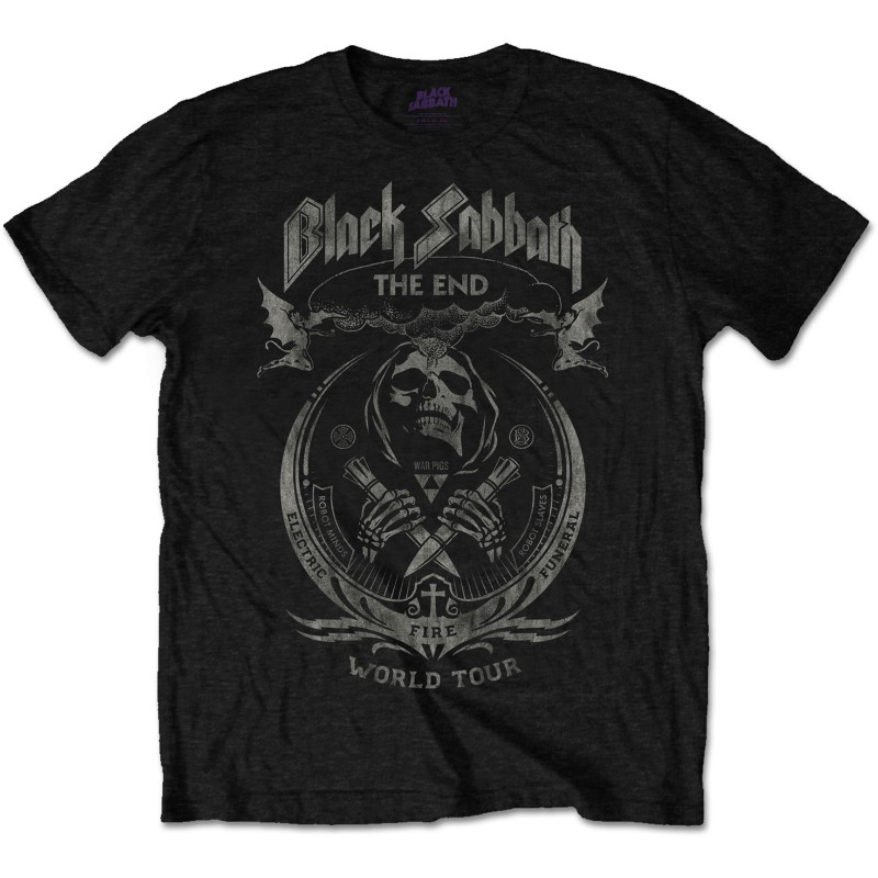 Tricou Black Sabbath The End Mushroom Cloud