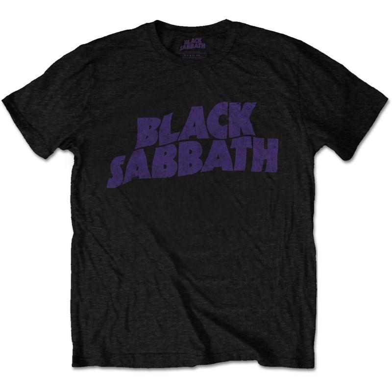 Tricou Black Sabbath Wavy Logo Vintage