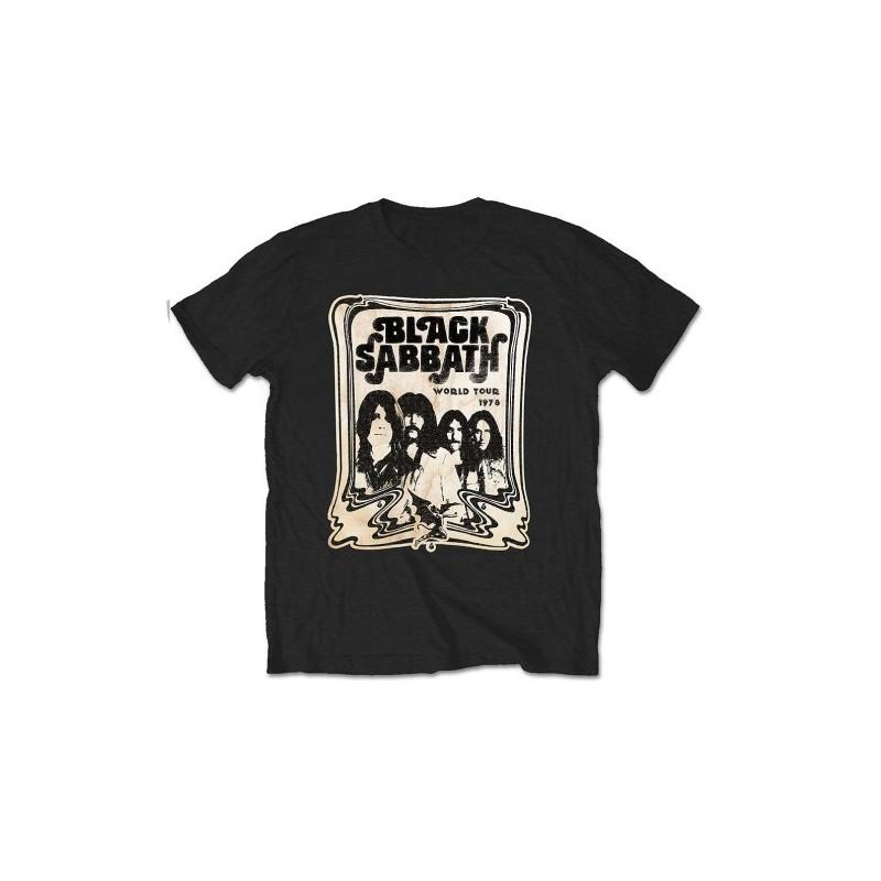 Tricou Black Sabbath World Tour 1978