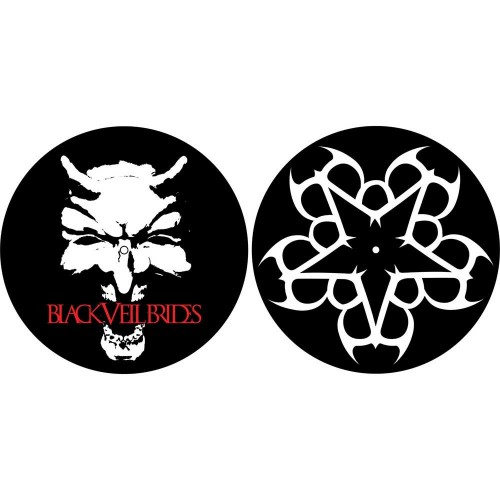 Set Slip Mat Vinyl Black Veil Brides Devil