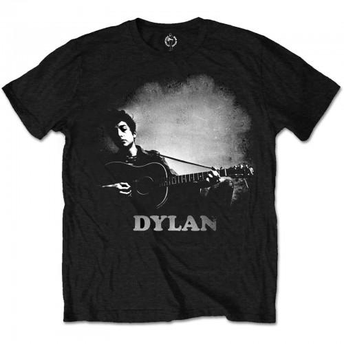 Tricou Bob Dylan Guitar & Logo