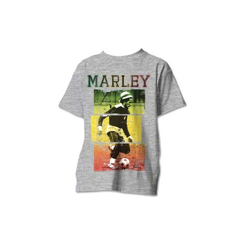 Tricou Bob Marley Football Text