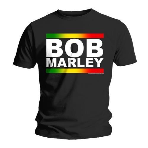 Tricou Bob Marley Rasta Band Block