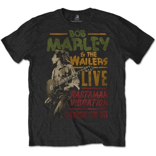Tricou Bob Marley Rastaman Vibration Tour 1976