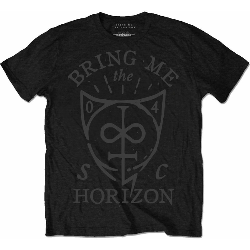 Tricou Bring Me The Horizon Hand Drawn Shield