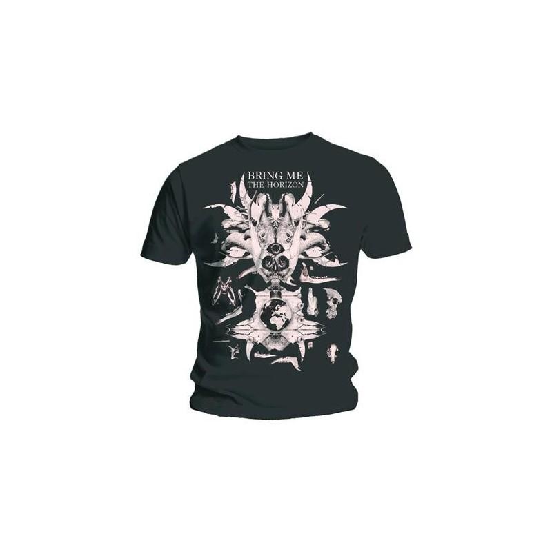 Tricou Bring Me The Horizon Skull & Bones