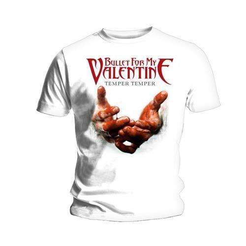Tricou Bullet For My Valentine Temper Temper Blood Hands
